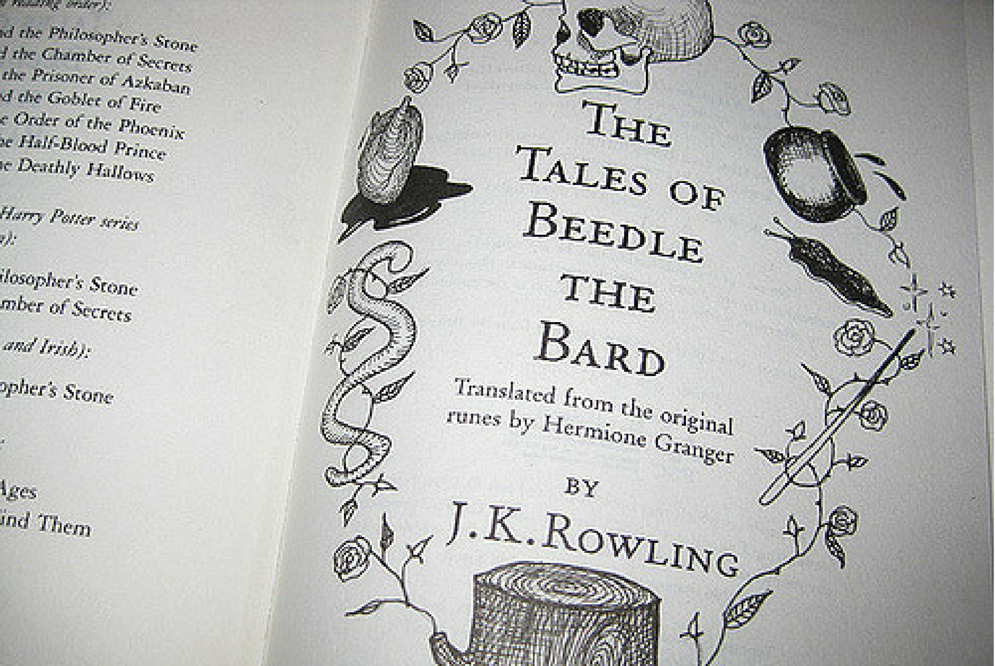 The Tales of Beedle the Bard - Wikipedia
