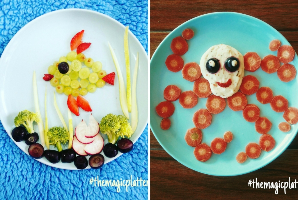 Sonam Jain Is Back With Sea World Food Art Moms Of Fussy